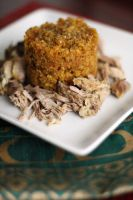 Pernil and Mofongo by laurenjacob