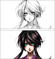 My coloring by Asjad-chan