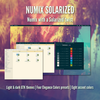 Numix Solarized by bitterologist