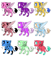 Llures Adoptables Batch 2 {OPEN} by SwiftKhaos