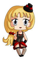 [CLOSED] FREE ADOPTABLE GIVEAWAY Burlesque Blonde by izka197