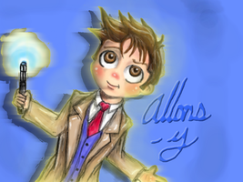 Chibi Tenth Doctor by lam8507
