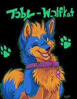 Fan art for Toby-Wolfkat by Ash-Dragon-wolf