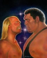 Hulk Hogan vs Andre the Giant by Habjan81