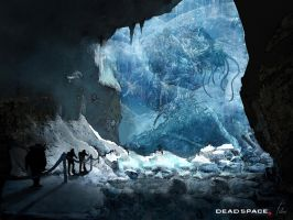 Dead Space 3- Giant trapped in Ice- Jason Felix by jason-felix