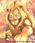 Lion and the Mouse by WilsonWJr