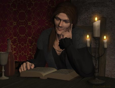 Late Night Reading by wheeter