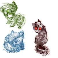 .:PC:. Sketches by oOCupcakeOo