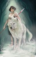 Princess Mononoke by JowieLimArt