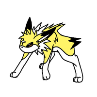 Raiki the Jolteon xD by ThatWildMary