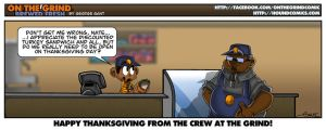 On the Grind - Thanksgiving by geogant