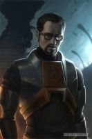 Gordon Freeman by KostanRyuk
