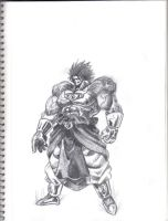 Mighty Broly by UBob