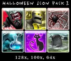 Halloween icon pack 2 by syrusbLiz