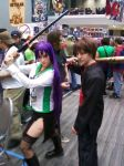 Saeko Busujima and Takashi Komuro Cosplay by X-BOX-BOY