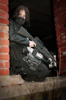 Winter Soldier Cosplay by writersoldier by writersoldier
