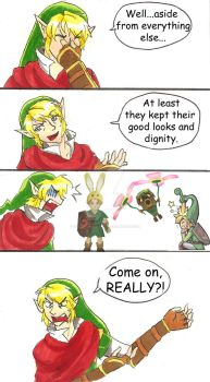 Past Hero Link is Disappoint: Part 4 by hopelessromantic721