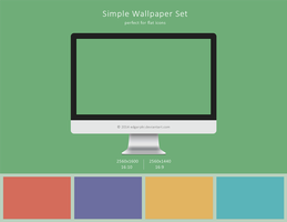 Simple Wallpaper Set by EdgarPkr