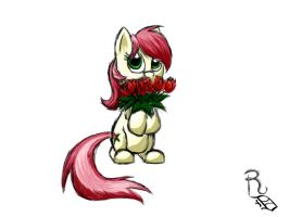 Day 13- Rose by RavenousDrake