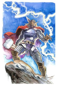 God of Thunder by Reybronx
