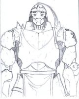 Alphonse Elric - Half Body by ClowKusanagi