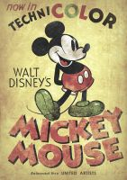 Mickey Mouse Vintage II by d-russo