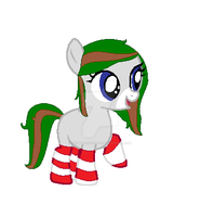 Christmasy Filly Adoptable ~CLOSED by Shimmering-Adopts