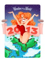 2013 calendar Cover by GenevieveFT