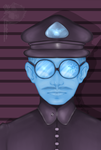 FA: Papers Please M.Vonel Special Investigator by AnkhsPaw