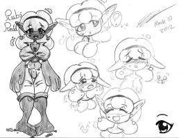 Rubi Character Page by david-does-drawings