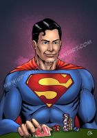 superman poker by spidey0318