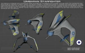 Umbaran Starfighter ortho [New] by unusualsuspex