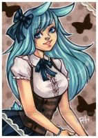 aceo - bluebell by demon-rae