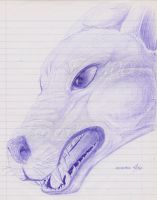 Bic Canis lupus by FerrerTriple0