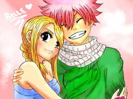 Nalu 05 coloured by celestialxbeauty
