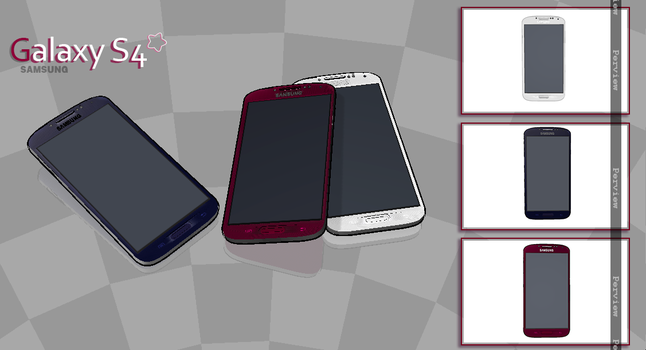 [MMD] SAMSUNG GALAXY S4 DL by Winter-Leaves