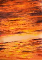 Sunset Clouds Texture 2 by Charmed-Ravenclaw