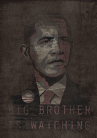Obama is Watching. by 1stDeviation