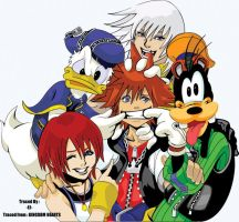 Kingdom Hearts by ejslayer