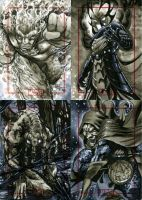 Marvel 70th Sketch Cards -v by RichardCox