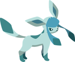 Glaceon Vector by Pokinee