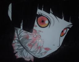Enma Ai with Crayons by valdo4