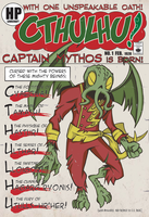 Captain Mythos Cover by piotrov