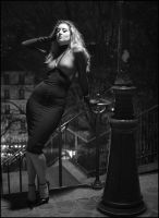 Ella Rose: Paris - Montmartre at Midnight by JeremyHowitt