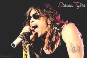 Steven Tyler 1 by ArtSlash13