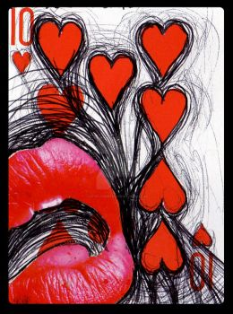 Eat Your Heart Out- ATC by LovelyShrew