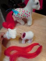 The making of Baby Sugarberry Custom by Amyatpebble