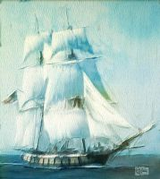 Colonial Warship by Pendragon1951