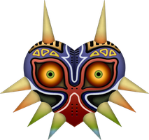 Majora's Mask by BLUEamnesiac