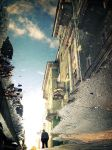 Street in the Puddle II by Sulde